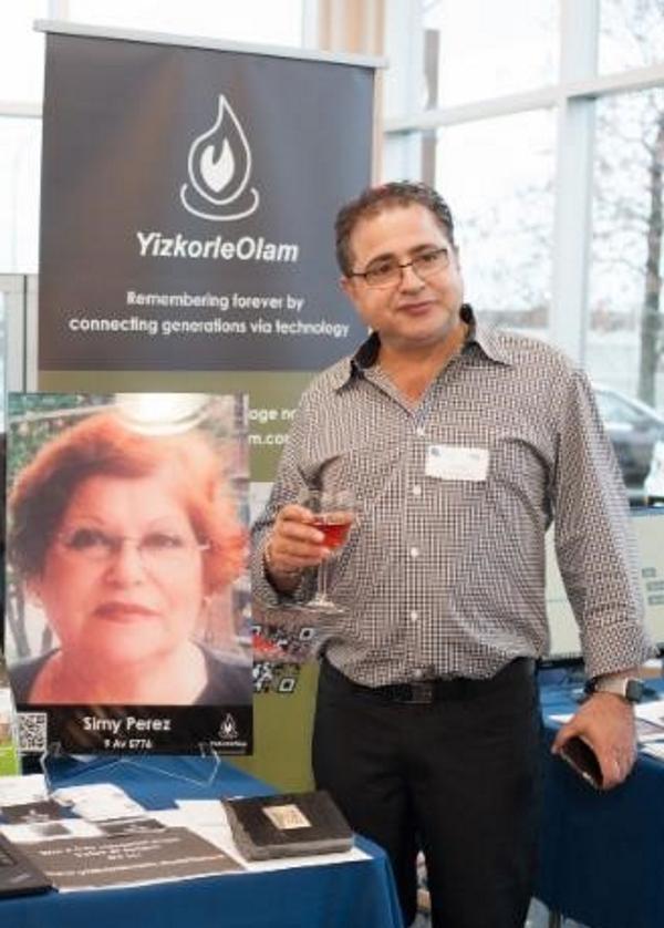 Joe Perez - Cofounder YizkorleOlam